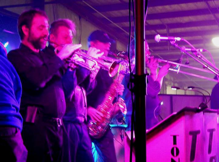 Chris with Tons O Fun Band.