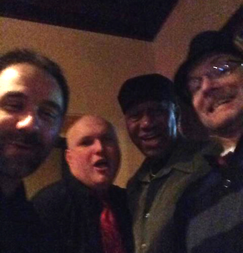 Chris with Legends of the Champaign scene